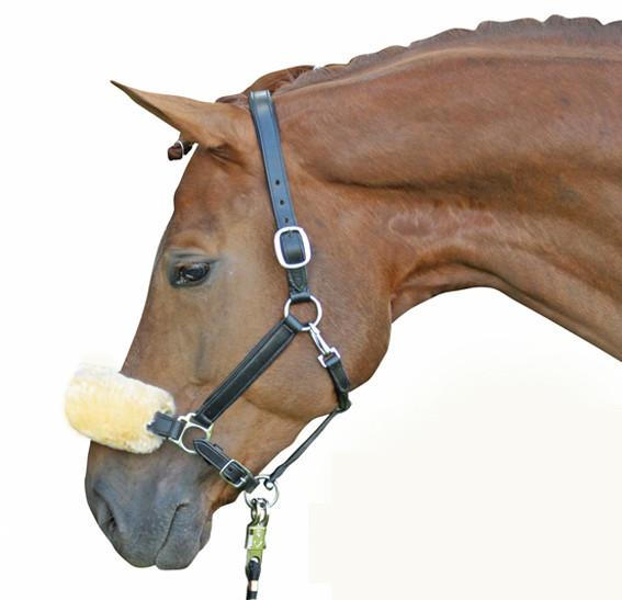 Echt-Lammfell-Nasen-Genickschutz