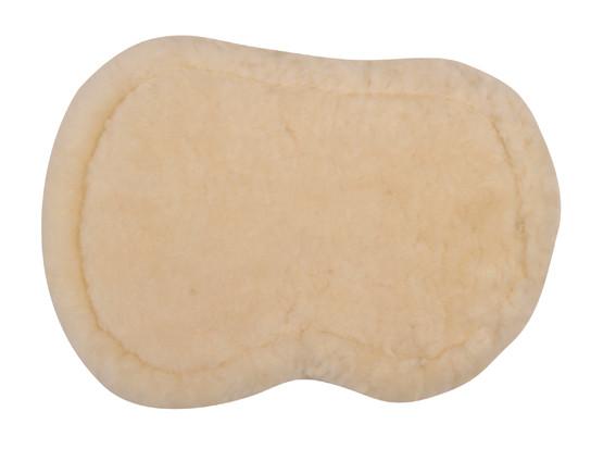 Lammwoll-Velourseinlagen mit Klett hinten