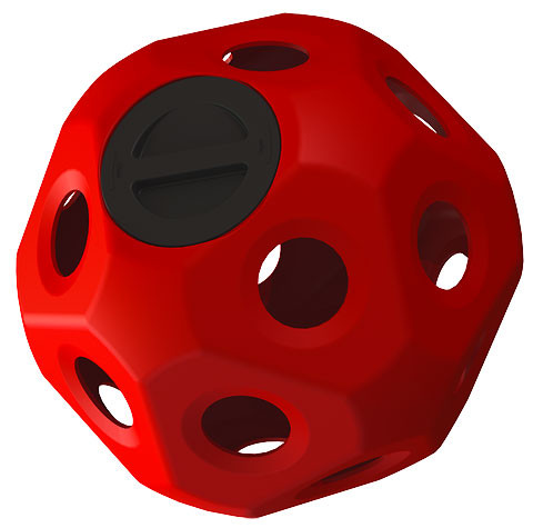 Heuboy Futter- und Spielball für Pferde befüllbar, 2 Farben